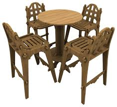High Top Patio Furniture Sets by Patio High Top Bistro Sets 5212