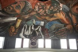 Jose Clemente Orozco Murales by Concluye Restauración De Murales De Orozco En Paraninfo De La Udg