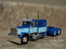 DCP 1/64 BLUE Peterbilt Semi Truck Flattop Farm Toy - $143.50 | PicClick