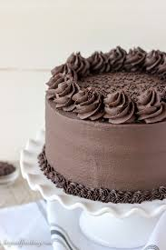 This Decedent Chocolate Stout Cake is a dark chocolate cake spiked with chocolate stout beer