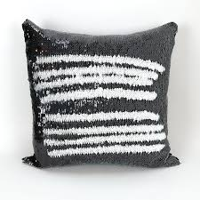 Decorative Lumbar Throw Pillows by Amazon Com Mermaid Pillow Cover Black And White Reversible