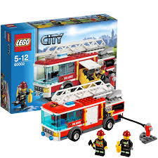 LEGO City 60002: Fire Truck: LEGO: Amazon.co.uk: Toys & Games | Lego ...
