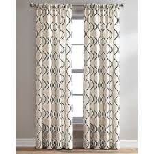 Geometric Pattern Curtains Canada by Modern Geometric Curtains Drapes Allmodern