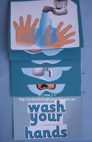 Cards Crafts Kids Projects Health Hygiene Interactive Chart