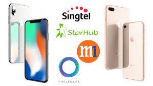 iPhone 8 iPhone 8 Plus iPhone X telco price plan parison