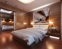 BedroomComfortable Rustic Bedroom Ideas With Wooden Floor And Wall Comfortable