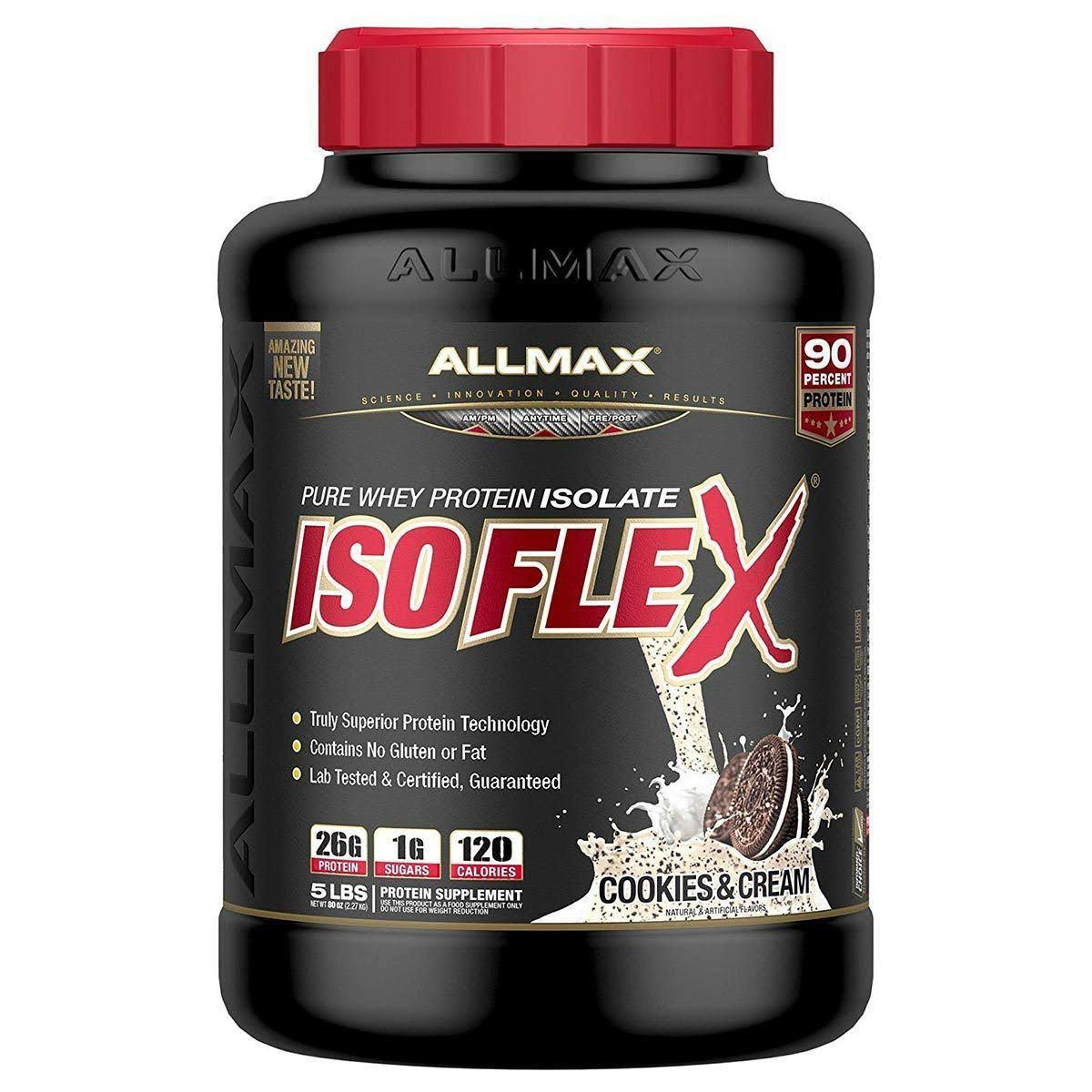Allmax Nutrition Isoflex 5 lbs - Cookies & Cream