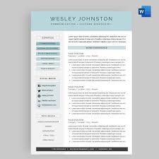 Resume / CV Template Package For Microsoft™ Word | 'The Wesley' The Best Free Creative Resume Templates Of 2019 Skillcrush Clean And Minimal Design Graphic Modern Cv Template Cover Letter In Ai Format Cvresume Design In Adobe Illustrator Cc Kelvin Peter Typography Package For Microsoft Word Wesley 75 Resumecv 13 Ptoshop Indesign Professional 2 Page File 7 Editable Minimalist Free Download Speed Art