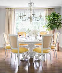 Light Hues Of Gray And Pops Yellow Combine To Create A Sophisticated Ambiance In The