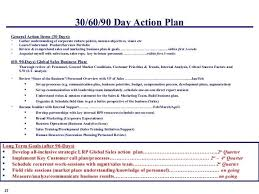 Luxury First 90 Day Plan Template 2017 July Free Design