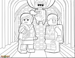 Astonishing Lego Movie Coloring Pages To Print With Batman And