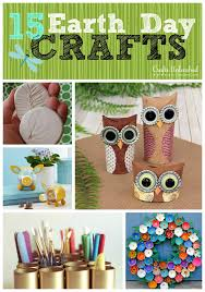 Earth Day Roundup Recycled Crafts DIY Unleashed