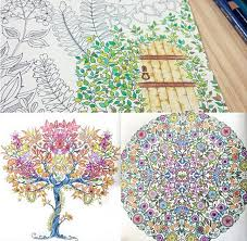 Decompression Artifact Secret Garden An Inky Treasure Hunt And Coloring Book Korean Version In Drawing Toys From Hobbies