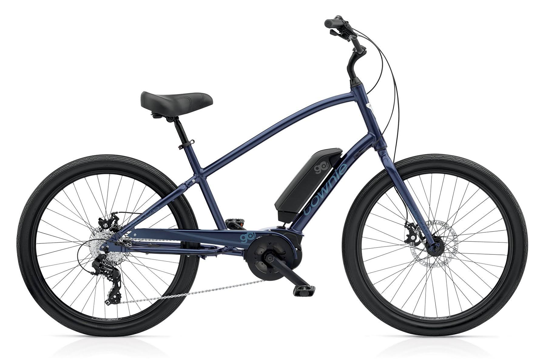 Electra Townie Go! 8D Step Over Poseidon Blue / Men's