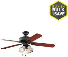 Harbor Breeze Ceiling Fan Light Kits Black by Harbor Breeze Ceiling Fan 4 Light Kit Clear Glass Matte Black