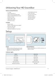 itb284b bluetooth 37 hd sound bar user manual users manual