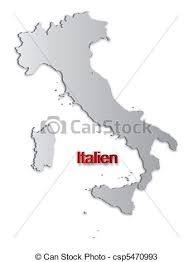 Italy Map A Simple 3d Of Vectors