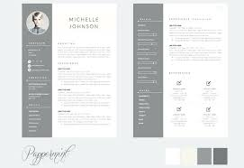 2 Page Resume Template Best Templates Two Free Download For Templ