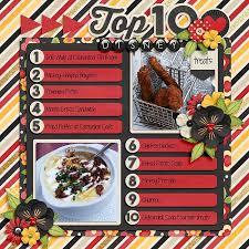 scrapbooking cuisine 201 best scrapbook food drinks images on book