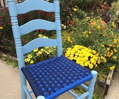 Recane A Chair Seat by Weave Chair Seats With Paracord 8 Steps With Pictures
