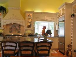 Image Of Rooster Kitchen Decorations