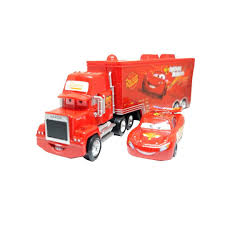 100 Lightning Mcqueen Truck Disney Pixar Car No95 Mack Racers McQueen Toys Car