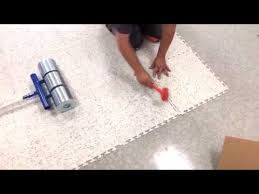 esd tile no odor tear out residues or adhesive