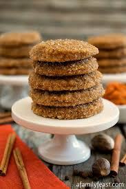 Pumpkin Spice Pudding Snickerdoodles by Spice Sugar Cookies A Family Feast