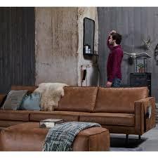 canape cuir vintage grand canapé 4 places vintage en éco cuir bronco drawers salons
