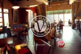 Tommys Patio Cafe Lunch Menu by Tommy V U0027s Urban Kitchen