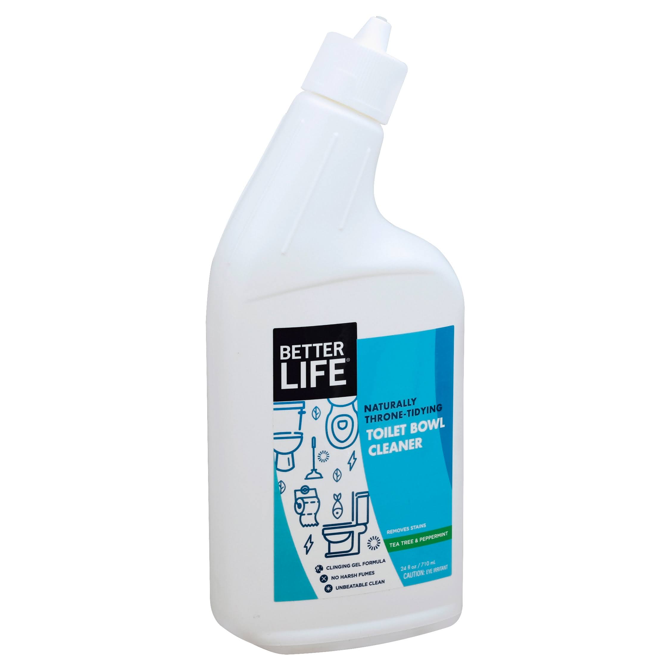 Better Life Toilet Bowl Cleaner, Tea Tree & Peppermint - 24 fl oz