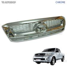 100 Truck Grills Details About Fit Toyota Hilux Vigo Sr5 Mk6 20082011 Chrome Front Grille Grill Replacement