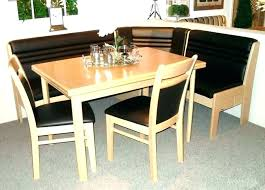 Corner Table With Bench Kitchen Tables And Benches Dining