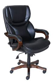 Tall Office Chairs Amazon by Amazon Com Serta Executive Office Chair In Black Bonded Leather