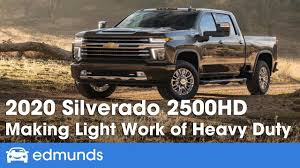 100 Edmunds Used Trucks 2020 Chevrolet Silverado HD 2500HD And 3500HD Step Up Their HeavyDuty Towing Game