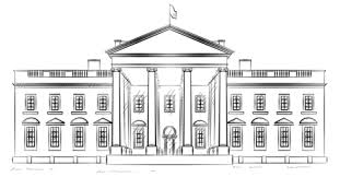 Click To See Printable Version Of White House Coloring Page
