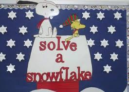 Solve A Snowflakethis Would Make Great Interactive Bulletin