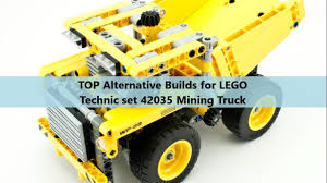 TOP Alternative Builds For LEGO Technic Set 42035 Mining Truck (With ... City Ming Brickset Lego Set Guide And Database Ideas Product Ideas Lego Cat Truck 797f Motorized Technic 42035 Brand New 17835856 362 Pcs 2in1 Wheel Dozer Bonus Rebrickable Airplane From Sort It Apps 4202 Technic Ming Truck Helicopter 420 Big Buy Online In South Africa On Onbuy