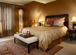 Gold Brown Bedroom Painting Ideas Designs Using Exotic Paint Colors