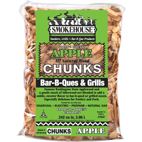 Smokehouse BBQ Wood Chunks - Apple