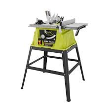 Wet Tile Saw Home Depot Canada by Ryobi 15 Amp 10 In Table Saw Rts10g The Home Depot