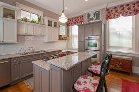 Richmond Pink And Gray With Contemporary Artificial Plants Trees Kitchen Transitional Grey 3x6 Subway