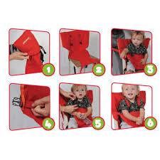 chaise bébé nomade babytolove chaise nomade bébé equipement nomade