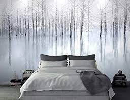 fototapete winter wasser wald tapete wandbilder wohnzimmer