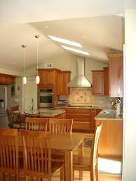 lighting ideas for vaulted ceiling kitchen tag spectacular