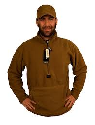usmc genuine issue size large coyote fleece ecwcs at amazon men u0027s