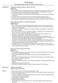Digital & Social Media Manager Resume Samples | Velvet Jobs Social Media Manager Resume Lovely 12 Social Skills Example Writing Tips Genius Pdf Makeover Getting Riley A Digital Marketing Job Codinator Objective 10 To Put On Letter Intern Samples Velvet Jobs Luxury Milton James Template Workbook Package Ken Docherty Computer For Examples Floatingcityorg Write Cover Career Center Usc