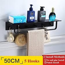 beautiful s shop schwarz badezimmer regal mit bar und