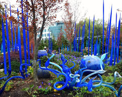 Glass Blown Pumpkins Seattle by Chihuly Garden And Glass Exhibition Seattle Wa Usa
