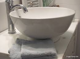 16 Inch Deep Bathroom Vanity by Frugal French Bathroom Done A Little Space With Loads Of